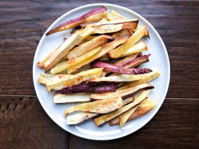 Japanese Yam Fries